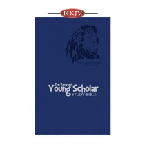 Young Scholar Study Bible NKJV (Leather-soft Blue)