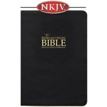 Remnant Study Bible NKJV (Genuine Top-grain Leather Black)