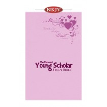 Young Scholar Study Bible NKJV (Leather-soft Pink)