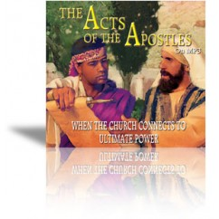 The Acts of the Apostles on MP3 (2 MP3 discs)