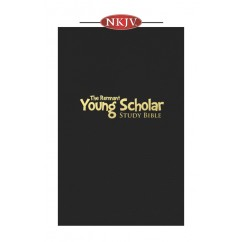 Young Scholar Study Bible NKJV (Top-grain Leather Black)