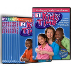Kids' Time 10-DVD Set