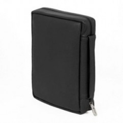 "Black Top-grain Leather Bible Case (fits 6.7"" x 9.6"" Bible)"
