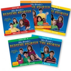 Miss Brenda's Bedtime Stories - Audio CD