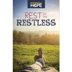 Rest for the Restless Messengers of Hope Sharing Tract