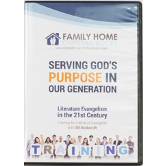 Serving God's Purpose in Our Generation (DVD)