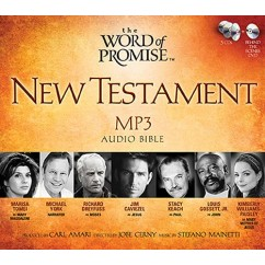 Thomas Nelson New Testament Audio Bible on MP3-CD