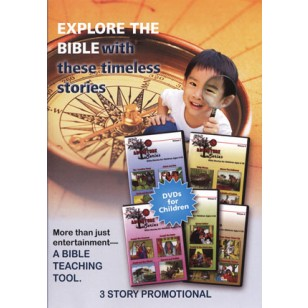 Explore the Bible with These Timeless Stories DVD