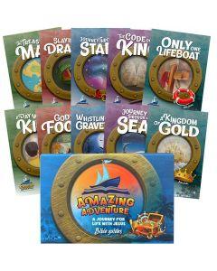 Amazing Adventure Children Bible Guide Set
