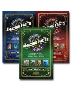 The Book of Amazing Facts Set (vol. 1, 2, & 3)