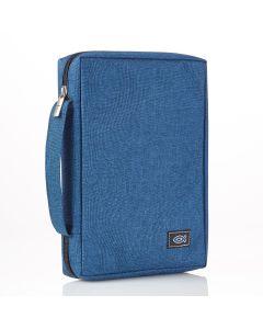 Blue Canvas Bible Case (Fits the Young Scholar Bible)