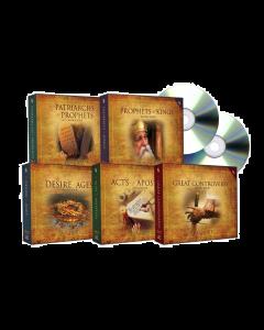 Bible Study Companion Set on MP3-CD (5 AUDIO BOOKS)