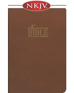 The Remnant Study Bible NKJV (brown top-grain leather)