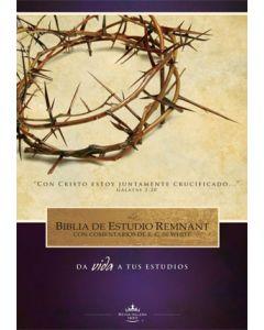 La Biblia De Estudio Remnant Tapa Dura RVR60—Spanish Remnant Study Bible Hardcover