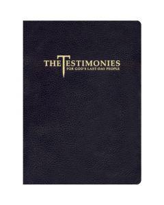 Testimonies for The Church, vol 1-9, One Binding (Genuine Leather, Black)