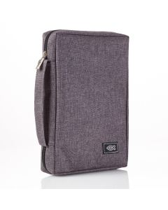 Charcoal Gray Canvas Bible Case (Fits the Young Scholar Bible)
