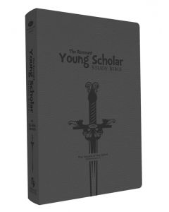 Young Scholar Remnant Study Bible (NKJV) (Leathersoft Gray)